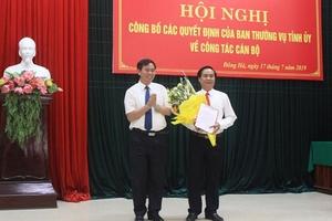 Bổ nhiệm Bí thư Thành ủy Đông Hà, Quảng Trị