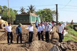 Dự án gần 1.480 tỷ ở Thanh Hóa chậm tiến độ