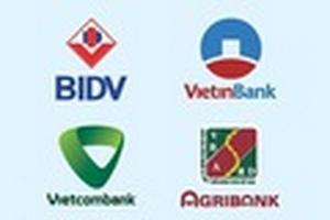 So sánh lãi suất ngân hàng 4 'ông lớn' ngân hàng Nhà nước mới nhất tháng 5/2019