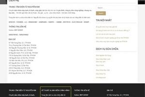 """Người tiêu dùng """"sập bẫy"""" website mạo danh Nguyễn Kim"""