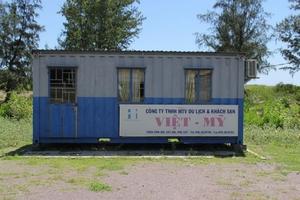 Dự án triển khai 13 năm đến nay chỉ là một cái thùng container