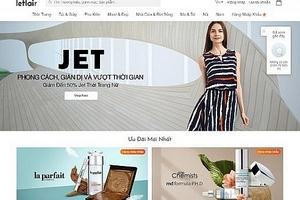 Trang bán hàng hiệu Leflair chia tay thị trường Việt Nam