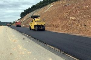 Giảm giá 0,1%, Linh Nam trúng gói thầu xây đường tại Lào Cai