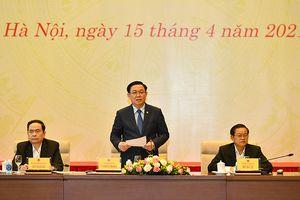 Hội nghị của Ủy ban Thường vụ QH với các đại biểu chuyên trách ở Trung ương