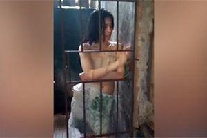 Video: Cô gái bị gia đình nhốt trong chuồng 5 năm ở Philippines