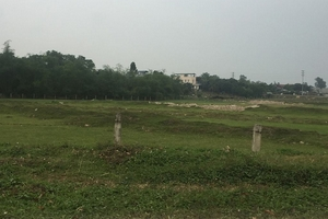 Vĩnh Phúc: Thu hồi đất các dự án, công trình chậm tiến độ