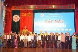 Trường Đại học Hùng Vương: Gặp mặt nhân kỷ niệm 15 năm đào tạo đại học, chào mừng Ngày Nhà giáo Việt Nam 20/11