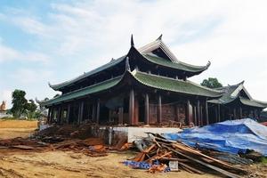 Biệt phủ 'khủng' ở Phú Thọ vẫn tấp nập xây dựng bất chấp quyết định đình chỉ