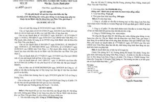 """Sở Y tế Vĩnh Phúc: Loạt gói thầu có chỉ số tiết kiệm """"khiêm tốn""""?"""