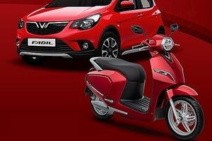 Ô tô cỡ nhỏ VinFast Fadil ra mắt, xe máy điện Klara được mở bán từ 20/11