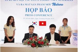 Dòng sữa bột trẻ em cao cấp Nubone gia nhập thị trường Việt Nam