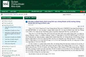 Cổ đông lớn MGG bị phạt do chậm báo cáo mua cổ phiếu