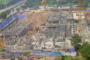 Hà Nội: Bệnh viện An Sinh bị cưỡng chế vì xây dựng không phép