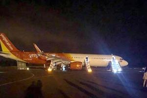 Máy bay Vietjet gặp sự cố, hành khách được lệnh nhảy ra cửa thoát hiểm
