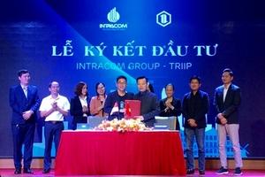 Intracom Group ký kết hợp đồng đầu tư 500.000 USD cho Triip