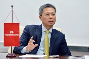 Ông Nguyễn Lê Quốc Anh rời cương vị Tổng Giám đốc Techcombank từ ngày 1/9