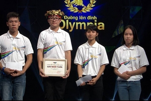 Nam sinh Olympia đạt điểm 10 môn Toán, đỗ thủ khoa Đại học Dược Hà Nội