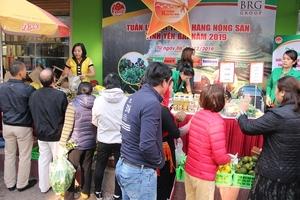 Hapro tích cực hỗ trợ quảng bá, giới thiệu và phân phối sản phẩm nông sản tỉnh Yên Bái tại hệ thống Hapromart & Intimix Hà Nội