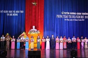 Đà Nẵng: Khen thưởng 25 Nhà giáo tiêu biểu năm học 2018-2019