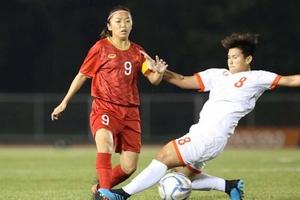 ĐT nữ Việt Nam thắng thuyết phục, tiếp tục hành trình chinh phục ngôi vô địch SEA Games 30