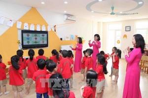 Năm 2019, Hà Nội tuyển dụng gần 11.000 giáo viên mầm non, tiểu học, trung học cơ sở