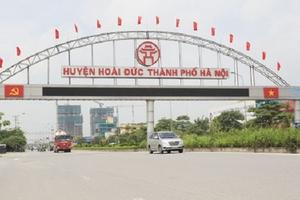 Huyện Hoài Đức, Hà Nội: 18 giải pháp phát triển kinh tế - xã hội năm 2020