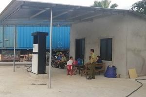 Hà Tĩnh: Nhiều dấu hiệu vi phạm của cây xăng trong khu dân cư