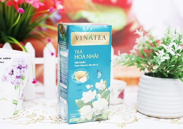 """""""Trà hoa nhài"""" tinh hoa đến từ Vinatea"""
