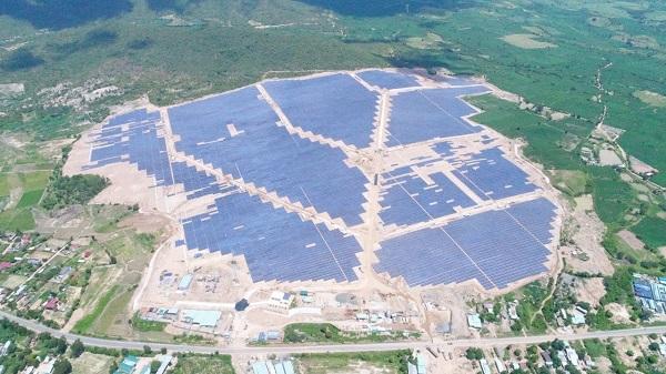 Nhà máy Điện mặt trời TTC Krông Pa có công suất 49 MW (69 MWp), tổng mức đầu tư hơn 1.400 tỷ đồng (Nguồn: GEC)