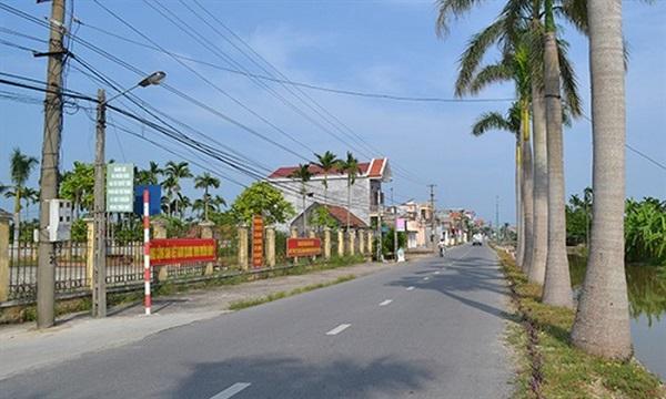Đường giao thông nông thôn tỉnh Nam Định