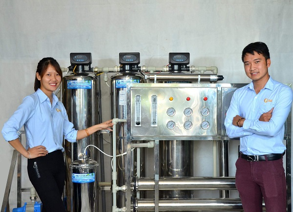 Hệ thống máy nước nóng trung tâm GAMA