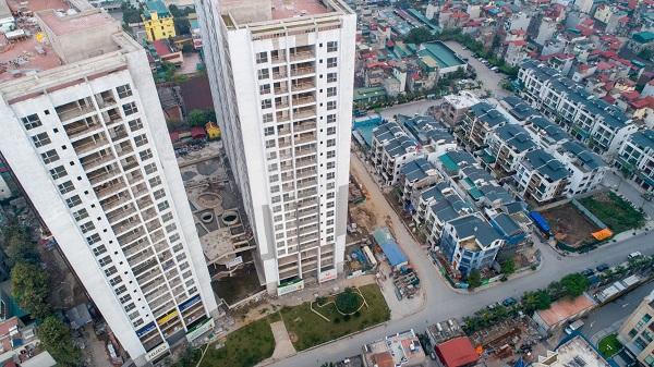 Toàn cảnh dự án Dự án Green Pearl ở địa chỉ 378 Minh Khai