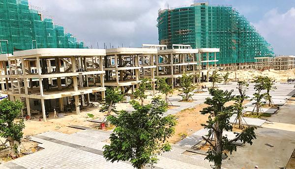 Dự án The Arena nằm bên bờ biển Cam Ranh đang được triển khai