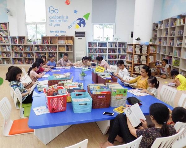 Phòng đọc thiếu nhi tại Thư viện Khoa học Tổng hợp Đà Nẵng thu hút đông đảo các bạn đọc trên địa bàn thành phố