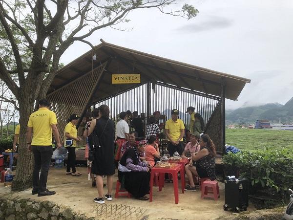 Tại Tuần Văn hóa, du khách sẽ được tham gia các tour du lịch đồi chè, các trang trại bò sữa trên địa bàn huyện Mộc Châu...