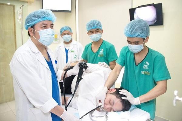 Quá trình nội soi êm ái, dễ chịu tại Bệnh viện Thu Cúc