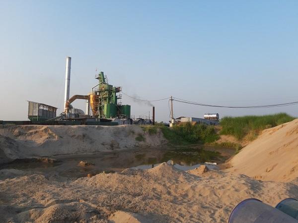 Trạm Asphalt không phép của Công ty D.T