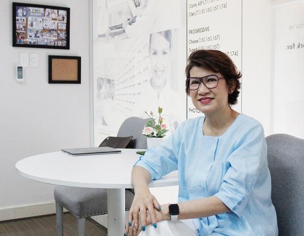 Bà Ashley Ngô, Chủ tịch HĐQT kiêm Tổng giám đốc Tập đoàn Ánh Rạng
