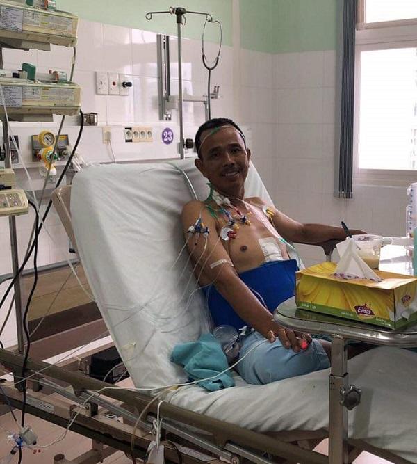 Bệnh nhân hồi phục nhanh sau ca ghép gan thành công ngoài mong đợi.