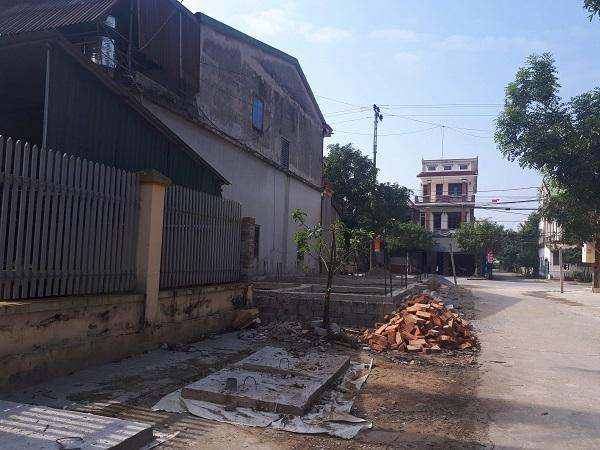 Công trình xây dựng gây tranh cãi ở Thị xã Hồng Lĩnh