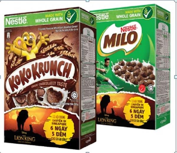 """Bánh ngũ cốc ăn sáng Nestlé phiên bản phim hoạt hình """"Vua Sư Tử"""" ra mắt hàng ngàn người tiêu dùng trên cả nước"""