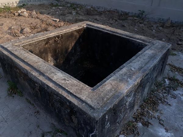 Giếng cổ được phát hiện trên địa bàn Cẩm Thăng