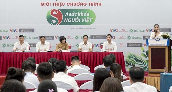 """Tại buổi cung cấp thông tin cho báo chí, Ban tổ chức cho biết, Chương trình """"Vì sức khỏe người Việt"""" tiếp tục phát sóng năm thứ 3 trên VTV2"""