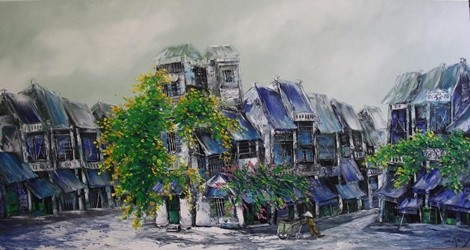 "Painting exhibition ""Memories"" by Nguyen Minh Son Artist and Vu Tuyen"