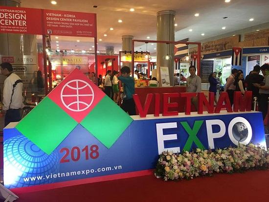 Vinatea đến với Vietnam Expo 2018 bằng nhiều sản phẩm thương hiệu