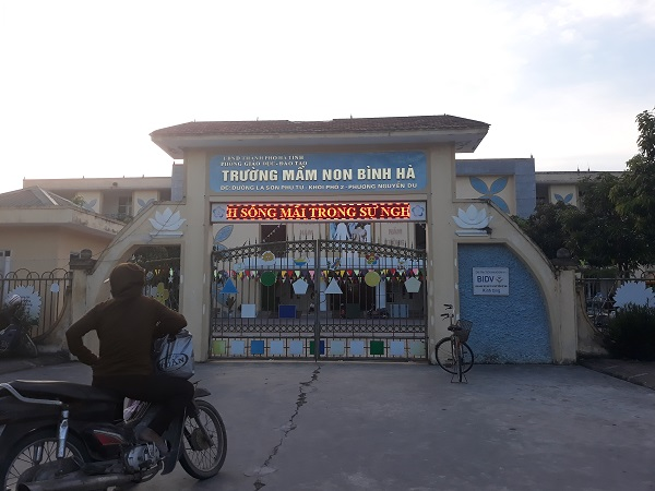 Trường mầm non Bình Hà