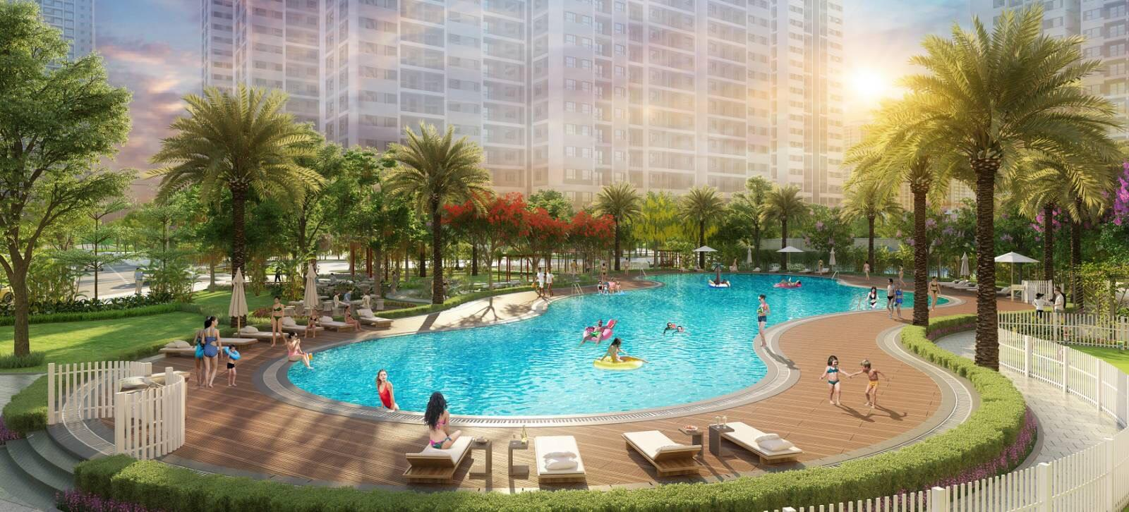 A picture containing tree, resort, outdoor, pool  Description automatically generated