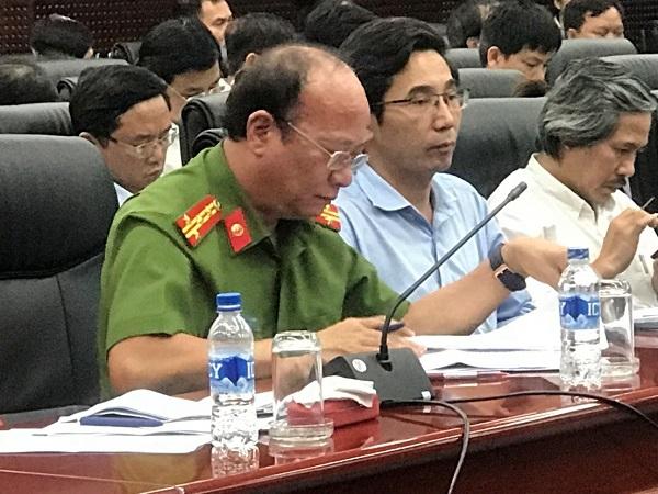 Đại tá Nguyễn Văn Chính, Phó Giám đốc Công an TP Đà Nẵng