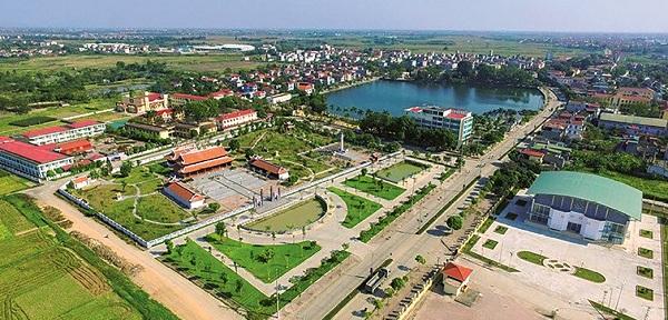 Nông thôn mới ở huyện Vĩnh Tường, tỉnh Vĩnh Phúc