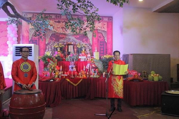 NSND Trần Nhượng – Chủ lễ đọc văn khấn Tổ nghề sân khấu